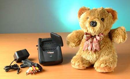 TeddyBear with Spy Cam