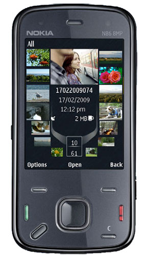 Nokia n86 8mp phone is for real official launch soon tech ticker
