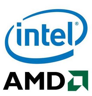Amd Intel Logo Tech Ticker
