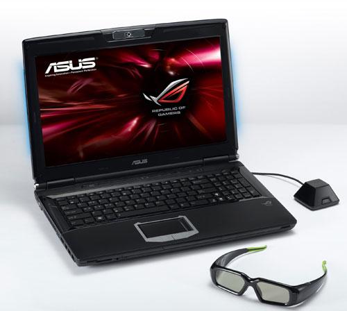 Asus G51J 3D notebook