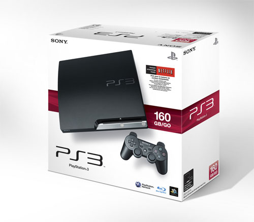 ps3 slim 320gb. The 160GB PS3 Slim now gives