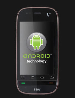 Videocon Enters The Android Fray Launches Zeus Phone