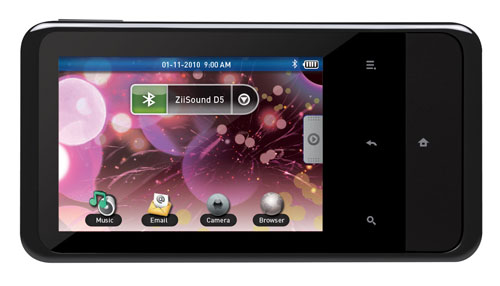 creative jumps in the android arena with ziio tablets and