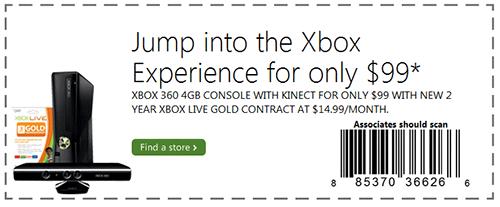Xbox 360 $99