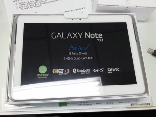 Galaxy Note 10.1 for South Korea