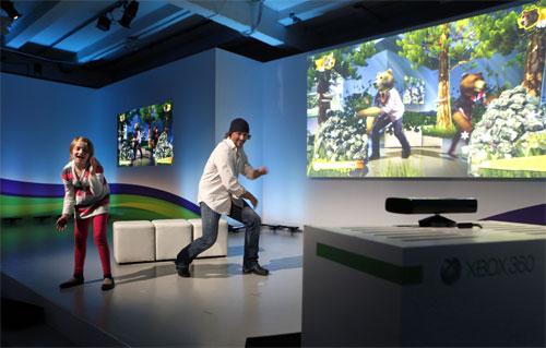 Microsoft Kinect Nat Geo TV
