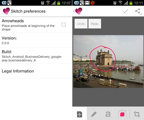 Skitch 2.0 For Android Matches IOS App Features, Brings