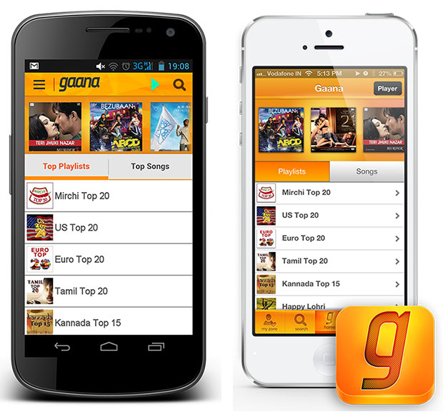 Gaana com launches apps for mobile devices - Tech Ticker