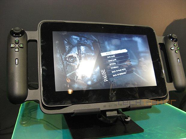Razer Edge Gaming Tablet Hands On Tech Ticker