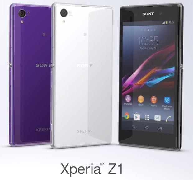 Sony Xperia Z1 arrives in India for Rs. 44,990