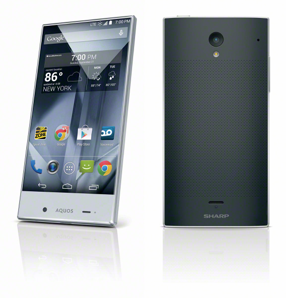 Sharp Aquos Crystal with edge-to-edge display announced ...