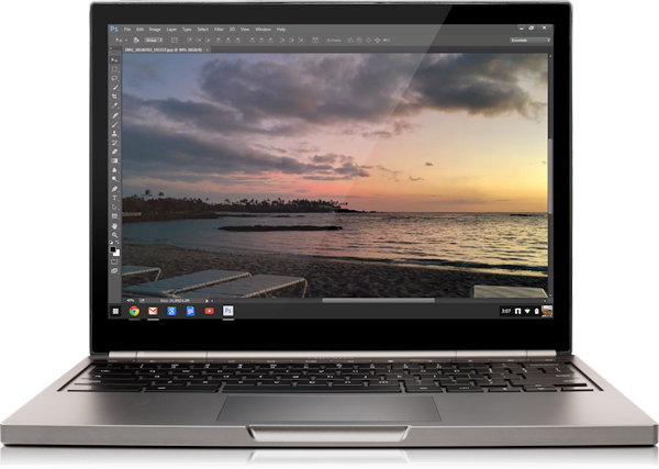 Streaming Photoshop for Chrome OS