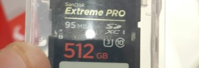 SanDisk 512GB SD card