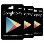 Google introduces Play Store Gift Cards