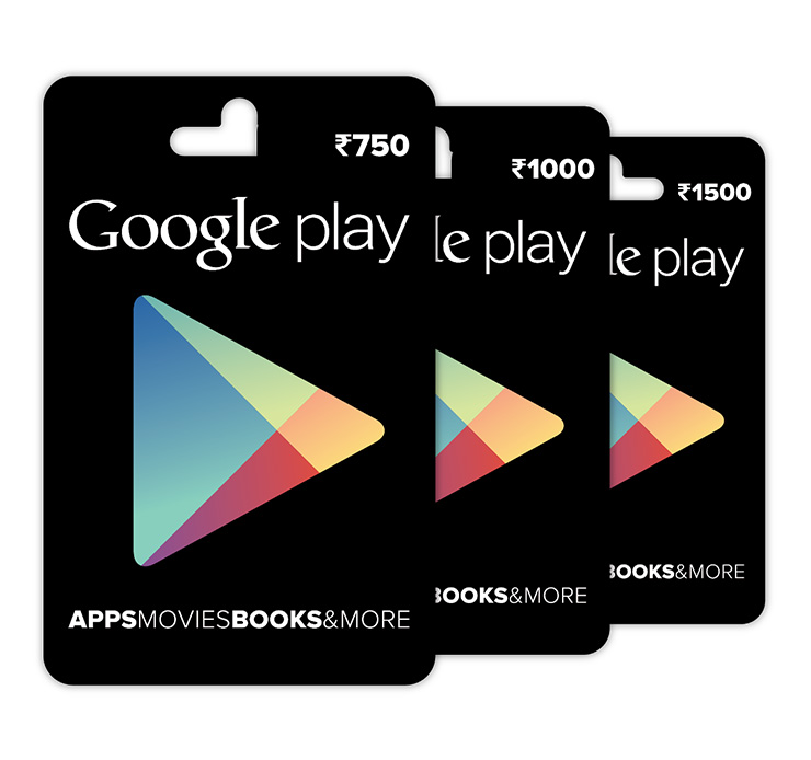 Prepaid Credit Cards >> Google introduces Play Store Gift Cards - Tech Ticker