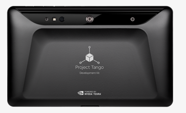 Project Tango Tablet Back