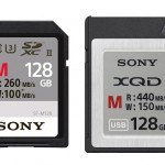 Sony introduces new XQD and SD cards in India