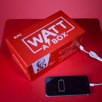 Charge your smartphone with your next KFC meal