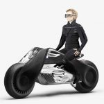 A bike that balances itself, this is BMW Motorrad VISION NEXT 100