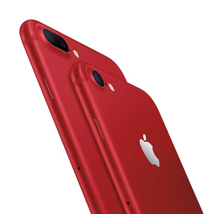 iPhone 7, 7 Plus (PRODUCT) RED special edition