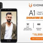 Virat Kohli's Signature Edition Gionee A1 launched