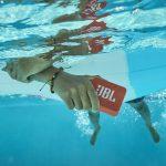 JBL GO 2 is a fully waterproof portable Bluetooth speaker