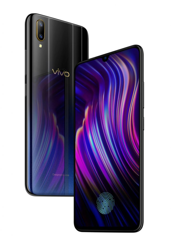Vivo V11 Pro With In Display Finger Print Sensor Launched In India