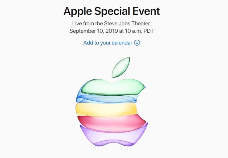AppleInvitation2019