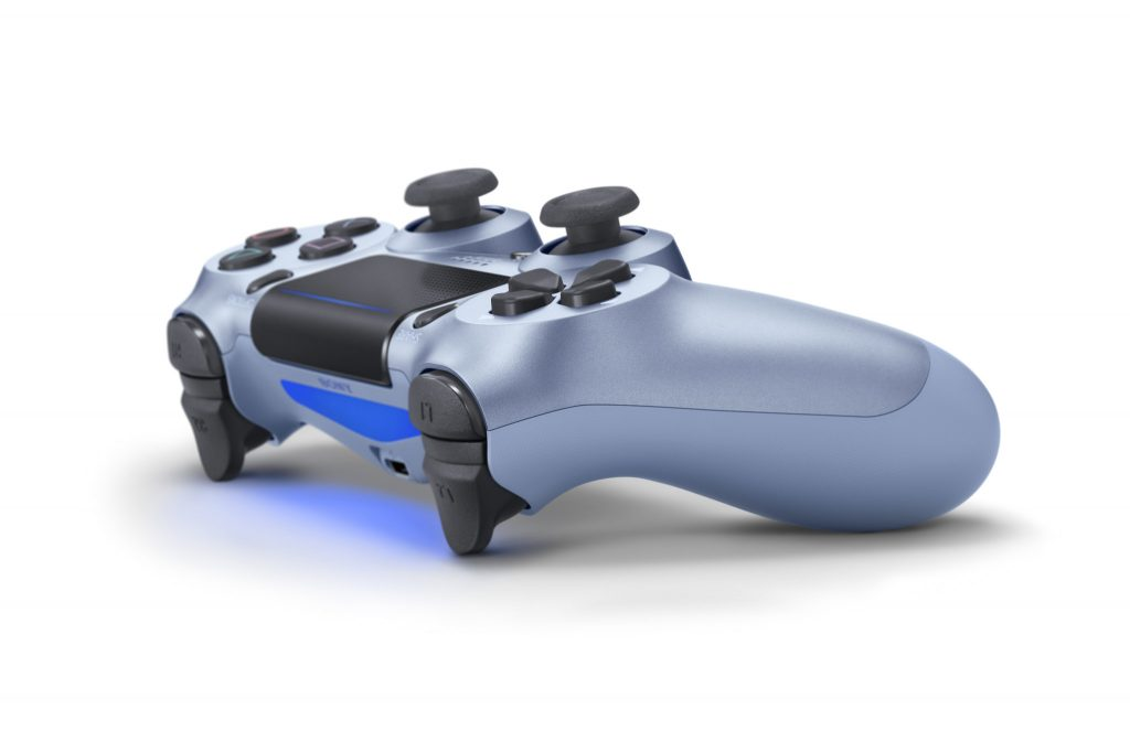 PS4 Blue Controller