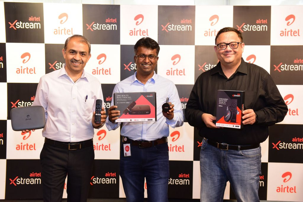 Airtel Xstream Launch